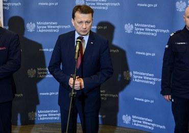 MSWiA: Samochód, którym poruszała się premier Szydło był nowy, pancerny i bezpieczny