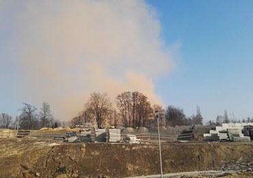 Awaria w hucie ArcelorMittal. Widać było kłęby brązowego dymu
