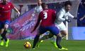 Osasuna Pampeluna - Real Madryt 1-3. Tano Bonnin z potwornym złamaniem nogi!