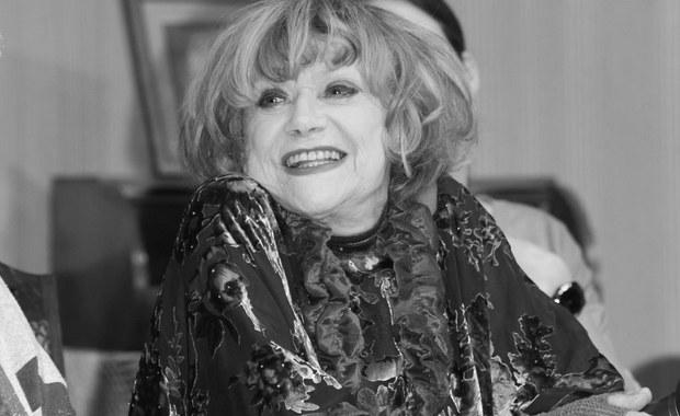 W nocy zmarła Krystyna Sienkiewicz - aktorka estradowa, teatralna, filmowa i telewizyjna, artystka kabaretowa. Miała 81 lat.
