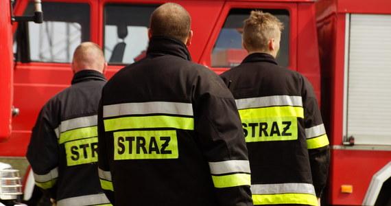 Od wieczora strażacy walczą z pożarem w miejscowości Brożek koło Zasiek w Lubuskiem, przy granicy niemieckiej. Ogień wybuchł na terenie firmy zajmującej się składowaniem odpadów.