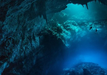 Niezwykłe zdjęcia z meksykańskich jaskiń