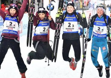 MŚ w biathlonie: Polki bez medalu w sztafecie. Złoto dla Niemek