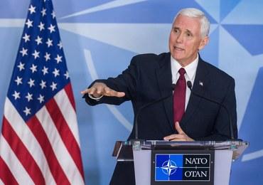 Wiceprezydent USA w NATO: Oczekujemy postępów Europy ws. wydatków na obronę