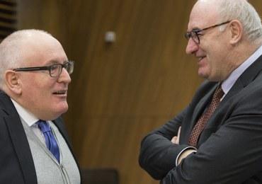 Kraje UE będą dyskutować o nałożeniu na Polskę sankcji. Timmermans ostrzega