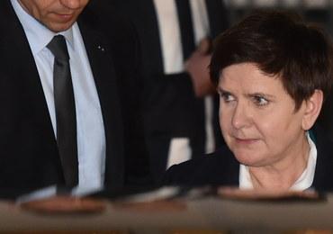 Kraków: premier Beata Szydło przesłuchana w prokuraturze