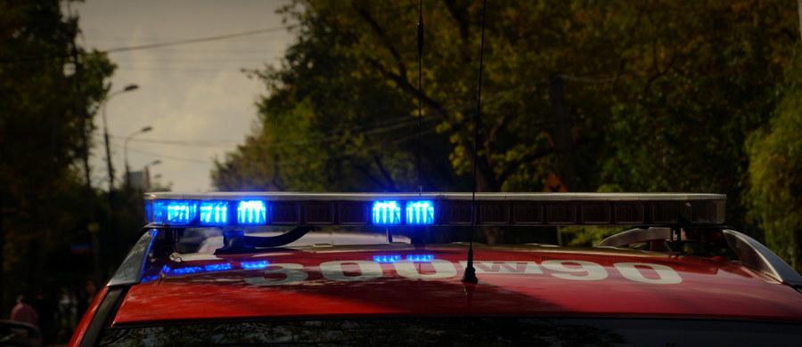 Wybuch i pożar w pracowni na Wydziale Chemii Uniwersytetu Jagiellońskiego w Krakowie. Jak usłyszeliśmy od strażaków, nie ma osób poszkodowanych.