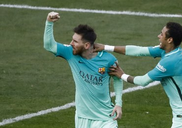Liga hiszpańska: Messi dał Barcelonie zwycięstwo w meczu z Atletico