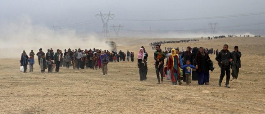 Ok. 26 tys. cywilów uciekło z zachodniego Mosulu w ciągu pierwszych dziesięciu dni rozpoczętej 19 lutego operacji odbijania tej części miasta przez irackie siły z rąk bojowników Państwa Islamskiego - podały władze Iraku.