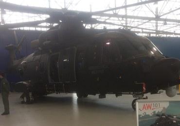 Oto śmigłowiec wielozadaniowy AW 101. Takimi będzie latać polska armia?