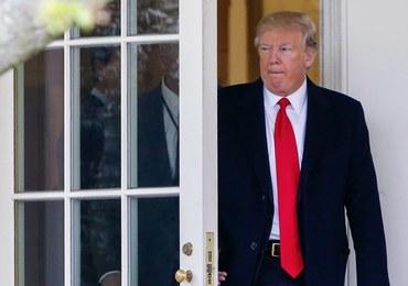 Prezydent USA Donald Trump zarzuca demokratom hipokryzję