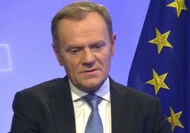 Jest uchwała komitetu politycznego PiS dot. kandydatury Tuska na szefa RE
