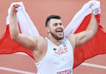 Konrad Bukowiecki halowym mistrzem Europy w pchnięciu kulą