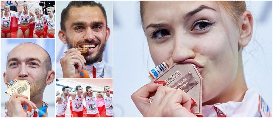 Dwanaście krążków i pierwsze miejsce w tabeli medalowej - to bilans polskich lekkoatletów w zakończonych w niedzielę w Belgradzie 34. halowych mistrzostwach Europy! Ostatniego dnia imprezy biało-czerwoni stawali na podium pięciokrotnie: w tym czterokrotnie na najwyższym stopniu.