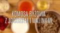 Komosa ryżowa z jogurtem i malinami