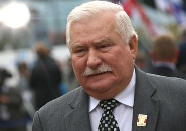 Wałęsa o Saryusz-Wolskim: Muszą mieć wielkiego haka na niego