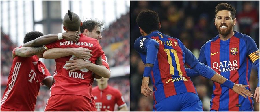 Już dzisiaj wieczorem poznamy pierwszych ćwierćfinalistów Ligi Mistrzów. Ze spokojem do rewanżowego pojedynku 1/8 finału w Londynie mogą podchodzić piłkarze Bayernu, którzy w Monachium pokonali Arsenal 5:1. Trudne zadanie czeka Napoli, które po porażce 1:3 podejmie Real Madryt. Jutro natomiast przed arcytrudnym wyzwaniem staną gracze Barcelony, którzy w połowie lutego przegrali w Paryżu z PSG aż 0:4. Ciekawie zapowiada się również jutrzejszy pojedynek Borussii Dortmund z Benfiką Lizbona: w Portugalii dortmundczycy przegrali tylko 0:1.