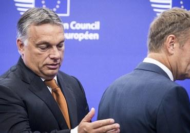 Viktor Orban nie chce powiedzieć, czy poprze Donalda Tuska