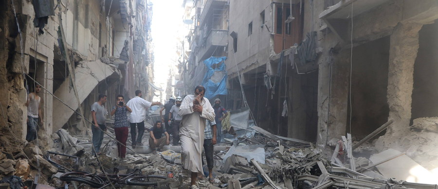 Wojska reżimu prezydenta Syrii Baszara el-Asada odbiły z rąk dżihadystów z Państwa Islamskiego stację pomp, która służy zaopatrzeniu w wodę Aleppo - podało syryjskie Obserwatorium Praw Człowieka z siedzibą w Londynie.