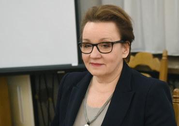 Zalewska: W marcu propozycje zmian w Karcie Nauczyciela, w kwietniu - harmonogram podwyżek