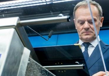 Donald Tusk ponownie wybrany na szefa Rady Europejskiej