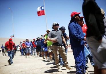 2,5 tys. górników kopalni miedzi strajkuje na wysokości 3300 m n.p.m.