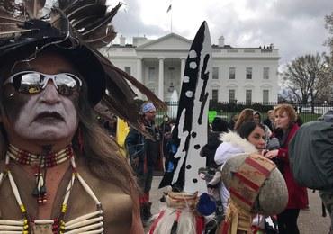 Indianie nie chcą rurociągu. Protestują przed Białym Domem