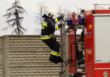 Pożar w fabryce środków piorących w Czyżewie. Wytworzył się toksyczny dym