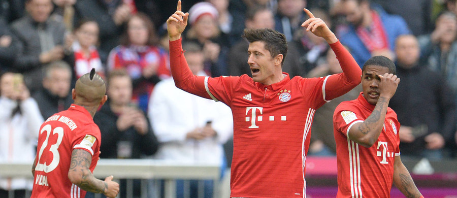 Robert Lewandowski zdobył dwie bramki, a Bayern pokonał w Monachium Eintracht Frankfurt 3:0 w 24. kolejce niemieckiej ekstraklasy. Polski piłkarz strzelił już 100 goli dla Bawarczyków, licząc wszystkie rozgrywki.