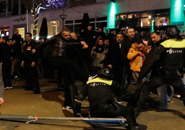 Starcia policji z protestującymi przed tureckim konsulatem. Są areszty