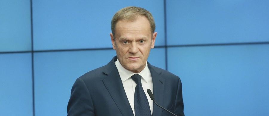 Donald Tusk nie pojawi się w środę w Prokuraturze Okręgowej w Warszawie, do której został wezwany jako świadek w śledztwie przeciwko byłym szefom Służby Kontrwywiadu Wojskowego o podjęcie bez zgody władz współpracy z rosyjską FSB. Rzecznik Rady Europejskiej poinformował, że obowiązki wymagają obecności Tuska tego dnia w Parlamencie Europejskim. W związku z tym - jak ustalił reporter RMF FM Mariusz Piekarski - warszawska prokuratura wyznaczy kolejny termin przesłuchania.