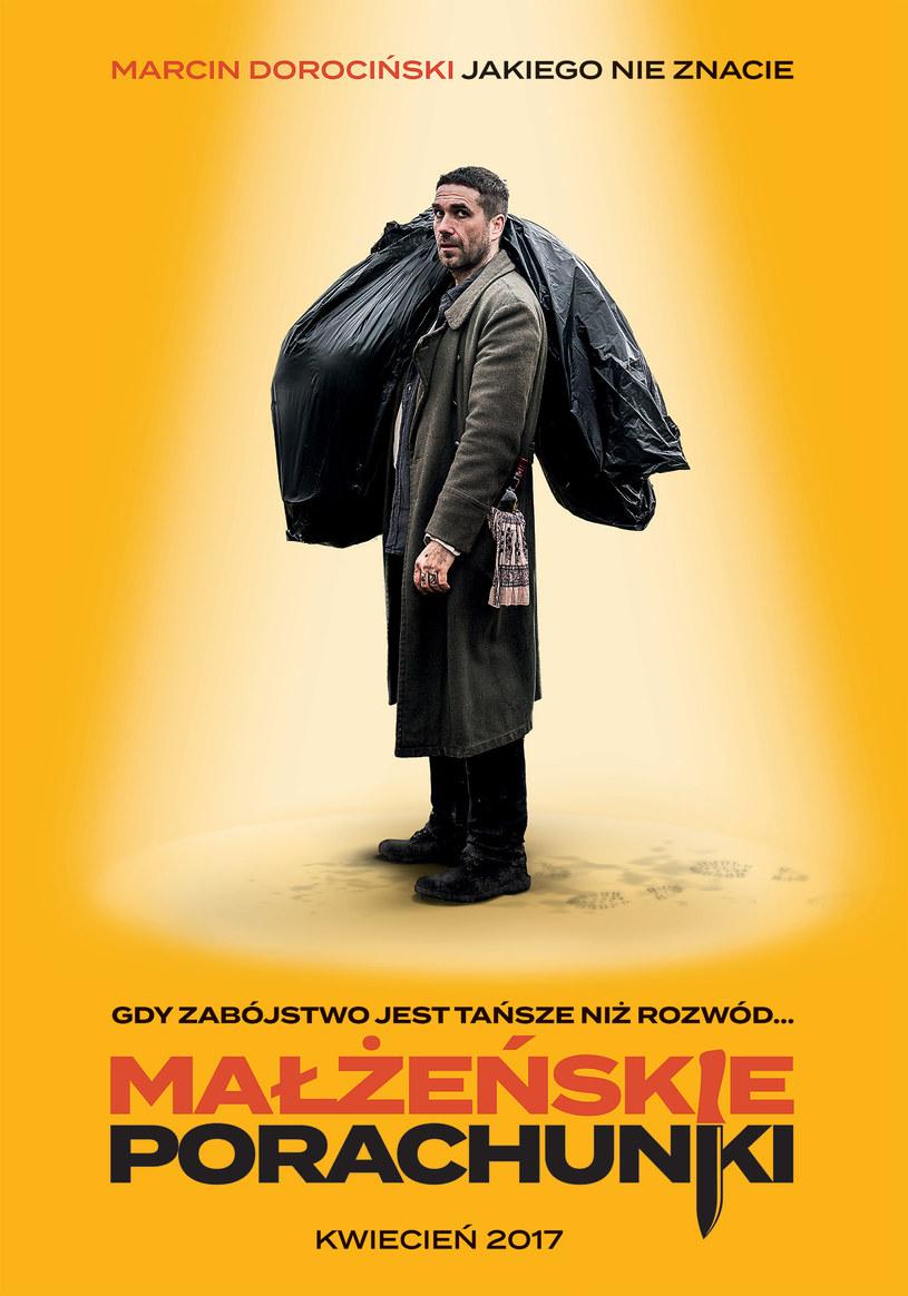 """Marcin Dorociński zagrał płatnego zabójcę w duńskiej komedii kryminalnej """"Małżeńskie porachunki""""."""