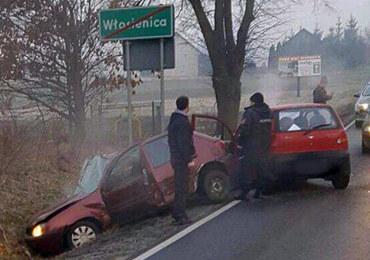 Wypadek koło Oświęcimia. 3 osoby ranne