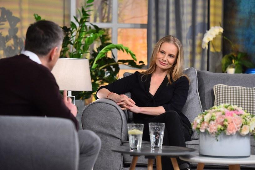 """Magdalena Cielecka będzie gościem najnowszego odcinka programu """"Demakijaż"""", który Polsat Cafe wyemituje we wtorek, 14 marca, wieczorem."""