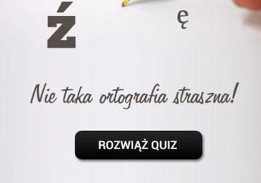 Ortograficzny quiz. Sprawdź swoją wiedzę!