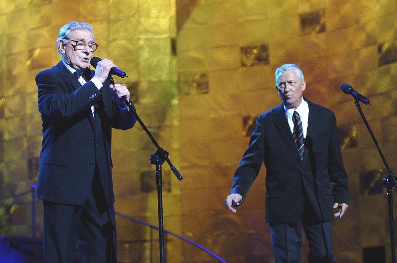"""- Smutek, gdy odchodzi taki człowiek, mówił mi: """"Co byś Wiesiu chciał, to ja ci napiszę"""", rozumieliśmy się doskonale - tak zmarłego w środę, 15 marca, Wojciecha Młynarskiego wspomina aktor, wykonawca jego piosenek, Wiesław Gołas."""