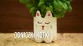 Doniczki-kotki z plastikowej butelki