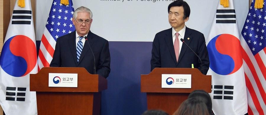 Polityka strategicznej cierpliwości wobec Korei Północnej wyczerpała się; Stany Zjednoczone analizują nową serię sankcji wobec Pjongjangu - oświadczył w Seulu sekretarz stanu USA Rex Tillerson.
