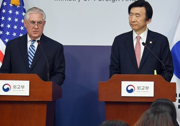 """Sekretarz stanu USA ostro o Korei Płn. """"Cierpliwość się wyczerpała"""""""