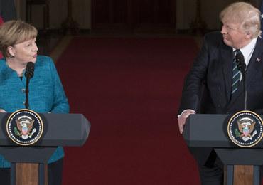Trump skomentował spotkanie z Merkel. Padły słowa o pieniądzach