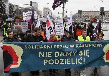 Na ulicach Warszawy i innych miast protestowano przeciw rasizmowi