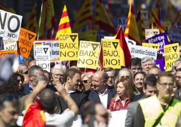 Katalonia zostanie odłączona od Hiszpanii? W Barcelonie protesty