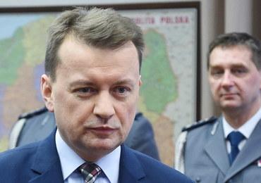 Błaszczak: Rząd unieważnił dokument dot. polityki migracyjnej Polski