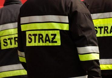 Pożar w domu studenckim Hilton w Rzeszowie. Kilkadziesiąt osób ewakuowanych