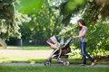 Pierwszy spacer z dzieckiem