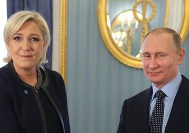 Marine Le Pen spotkała się z Putinem. Niepokojąca zapowiedź szefowej Frontu Narodowego