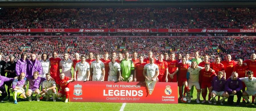 Były bramkarz Liverpoolu i Realu Madryt Jerzy Dudek był jednym z bohaterów charytatywnego meczu dawnych gwiazd obu klubów, który odbył się w sobotę na Anfield. Polak w pierwsze połowie strzegł bramki gospodarzy, w drugiej zmienił barwy. Liverpool wygrał 4:3.