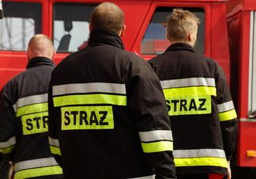 Tragiczna noc na Śląsku. W pożarze kamienicy w Bytomiu zginął mężczyzna