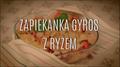 Przepis na zapiekankę gyros z ryżem