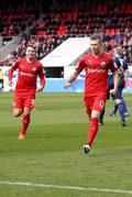 SV Sandhausen - Arminia Bielfeld 1-3. Jakub Kosecki z asystą